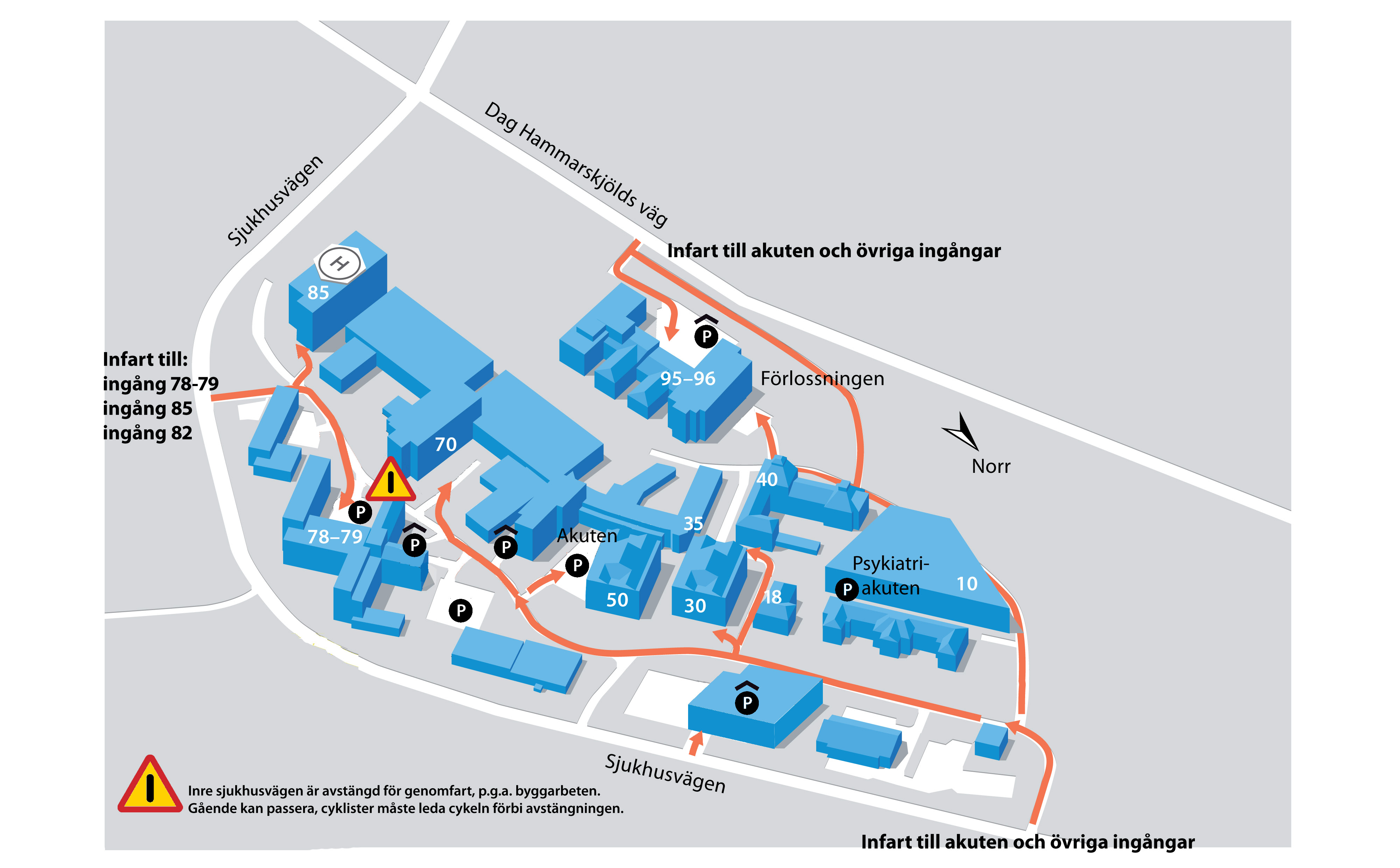 akademiska karta Parkering   Akademiska akademiska karta